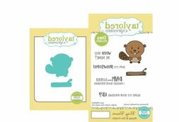 Taylored Expressions Rubber Stamp/Die Set  ~ BUSY BEAVER ~TE