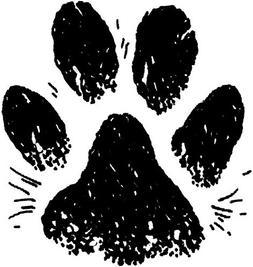 Rubber Stamp - Dog's Paw - Artemio PEB930