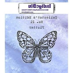 RUBBER STAMP BUTTERFLY Collectors Edition No.21 Cling Rubber