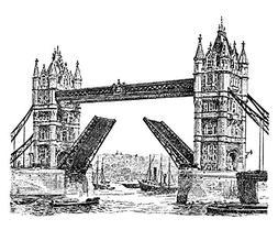 Rubber stamp - Tower Bridge - Artemio ARTHF609