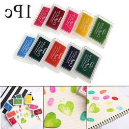 Rubber Stamp Paint Art Decor Ink Pad Fingerprint Inkpad Craf