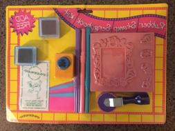 Inkadinkado Rubber Stamp Scrapbook Kit Acid Free Roller Baby