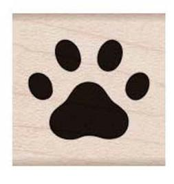 Hero Arts, Rubber Stamp, Small Paw Print  Block by