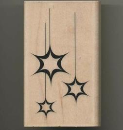 Penny Black Rubber Stamp Sparkle  Stars
