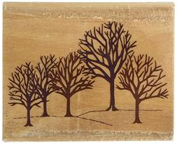 Rubber Stampede Rubber Stamp-Winter Woods