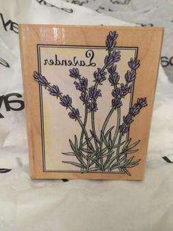 Rubber Stamper Lavender By Rubber Stampede Never Used!!!