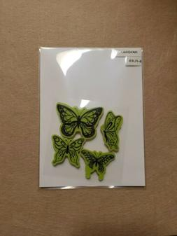 Inkadinkado rubber stamps butterfly