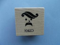 INKADINKADO RUBBER STAMPS CIAO NEW wood STAMP last one