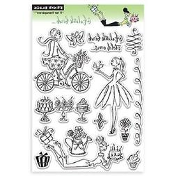 PENNY BLACK RUBBER STAMPS CLEAR A LITTLE BIRD NEW clear STAM
