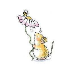 PENNY BLACK RUBBER STAMPS GIFTS FOR YOU MOUSE DAISY BEE NEW