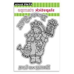 PENNY BLACK RUBBER STAMPS SLAPSTICK CLING DECORATE THE SEASO
