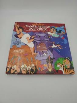 Disney's Aladdin Rubber Stamp Story Box 34 Stamp Set With Wa