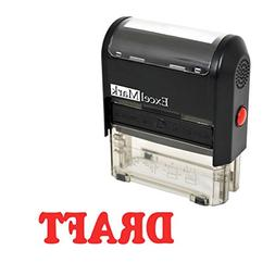 ExcelMark PAID Self-Inking Rubber Stamp -
