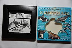 Sea Mammals Rubber Stamp Kit
