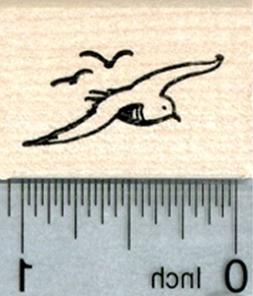 Seagull Rubber Stamp, Nautical Travel Series