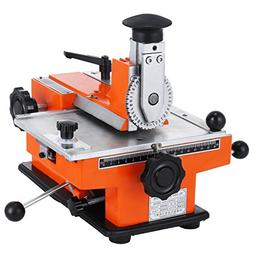 BestEquip Semi-Automatic Metal Stamping Printer Sheet Emboss