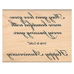 """My Sentiments Exactly Mounted Stamp, 3"""" x 3.25"""