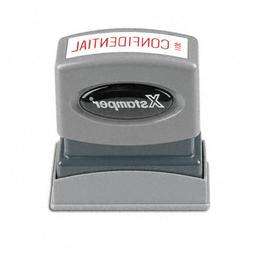 SHACHIHATA INC Confidential Ink Stamp, 1/2 x 1-5/8 Inches, R