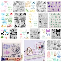 Silicone Clear Stamp Rubber Stamps DIY Scrapbooking/Photo Ch