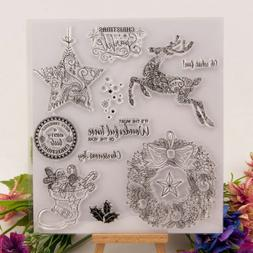 Silicone Clear Stamp Transparent Rubber Stamps DIY Scrapbook