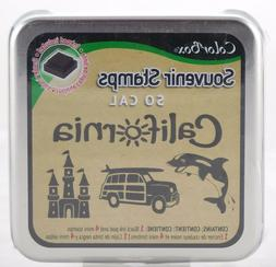 Southern California Foam Mounted Rubber Stamp & Ink Pad Coll