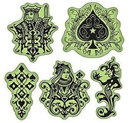 Inkadinkado Spade, King, Queen, Gambling Inspired Images Set