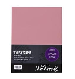 Speedball Speedycarve Pink Block 9X11.75
