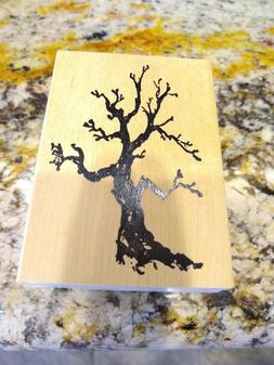 Art Impressions - Spooky Tree Rubber Stamp