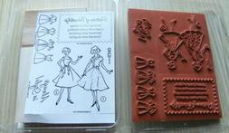Stampin Up Rubber Stamp Set ~ Pattern of Friendship