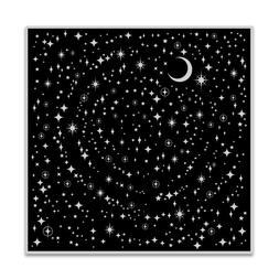 "Hero Arts ""STAR LIGHT STAR BRIGHT"" Background Cling Bold Pri"
