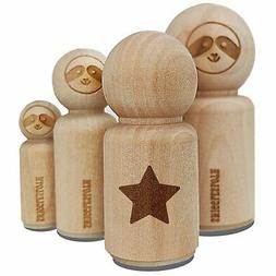 Star Shape Excellent Rubber Stamp for Stamping Crafting Plan