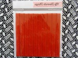 My Favorite Things Striped Background Rubber Stamp ~ New