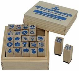 teacher stamps by teacher stamp set no