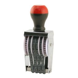 traditional 4 digit rubber stamp