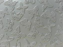 Unmounted A2 Stamp for Polymer Clay ~ BUTTERFLIES ~ PrintMak