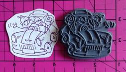 Unmounted Rubber Stamp Stampendous CHANGITO The Monkey DRIVE