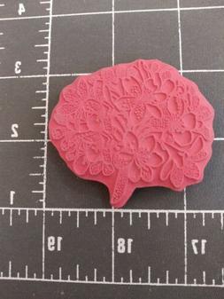Unmounted Rubber Stamp jewelry bouquet summer wild flower do