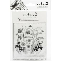 "Crafty Individuals Unmounted Rubber Stamp 4.75""X7"" Pkg-Sprin"