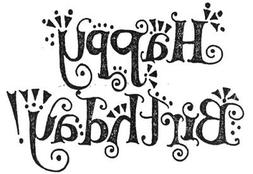 Unmounted Rubber Stamps, Friendship Sayings, Friendship, Hap