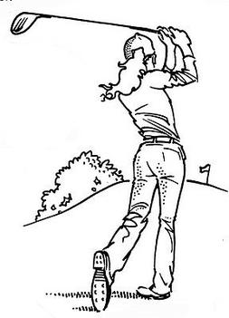 Unmounted Rubber Stamps, Sports Stamp, Golfing, Golf, Lady G