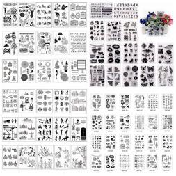 Various Silicone Clear Stamp Transparent Rubber Stamps DIY S