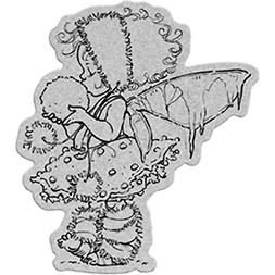 Penny Black 40-179 Winter Fairy Cling Rubber Stamp