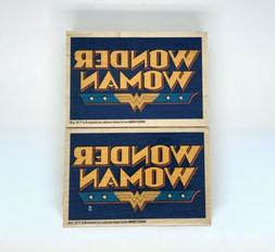 wonder woman dc comics wood rubber stamp