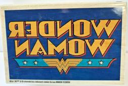 Wonder Woman DC Comics Wood Rubber Stamp INKADINKADO New