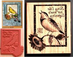 Inkadinkado Wood Stamp, Sing Like No Other
