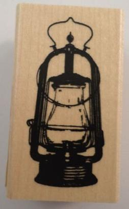 Inkadinkado Wood Stamp, Fall Lantern