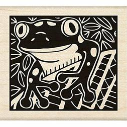 Inkadinkado Wood Stamp, Frog