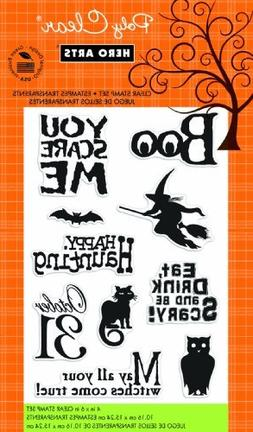 Hero Arts Rubber Stamps You Scare Me Clear Stamp Set by Hero